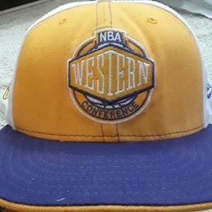 Vintage Lakers western conference hat